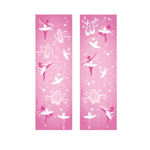 Sticker Set Ballerina, 8 Bögen