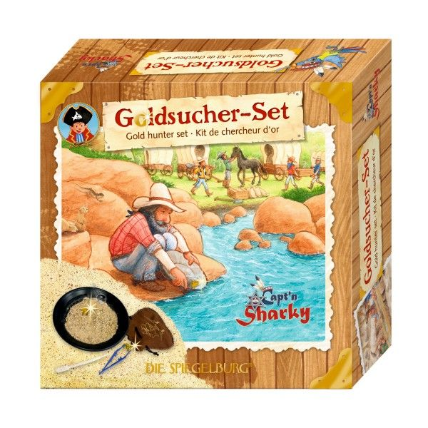 Goldsucher-Set Capt'n Sharky