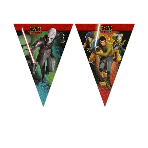 Wimpelkette Star Wars Rebels, 2,6m
