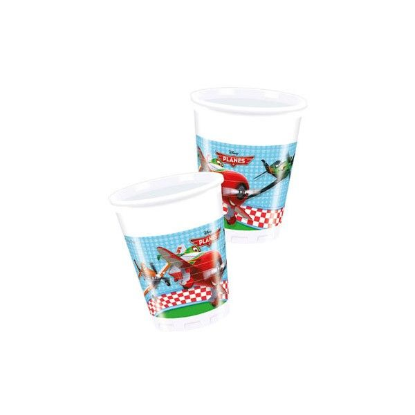 Becher Planes 200ml, 8 St