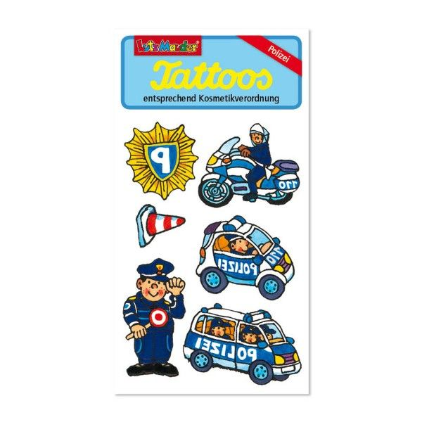 Tattoos Polizei X