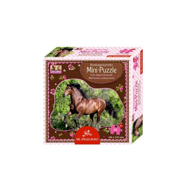 Minipuzzle Andalusier Pferdefreunde X