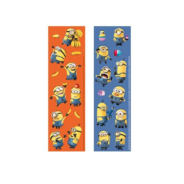 Sticker Set Minions, 8 Bögen