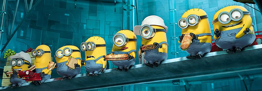 Rezeptideen für die Minionparty. • Foto: DESPICABLE ME 2, 2013. ©Universal Pictures/courtesy Everett Collection - Ich einfach unverbesserlich 2/action press