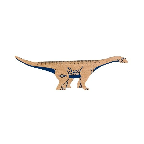 Holz-Lineal T-Rex World X
