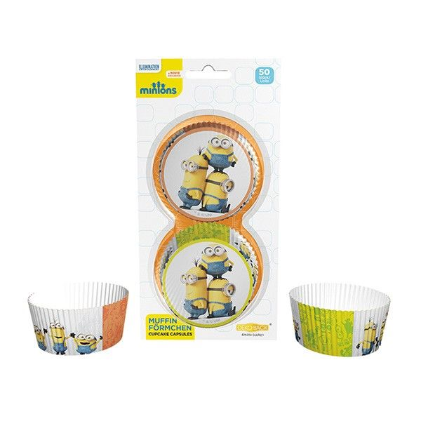 Muffinf�rmchen Minions, 50 St�ck