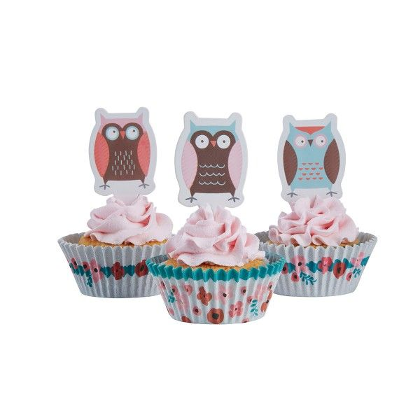 Muffin-Set Eule