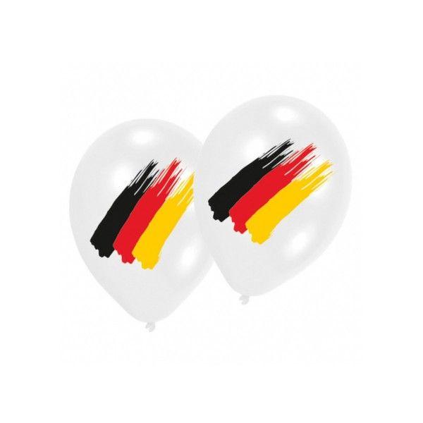 Luftballons Fussball, 6 Stück