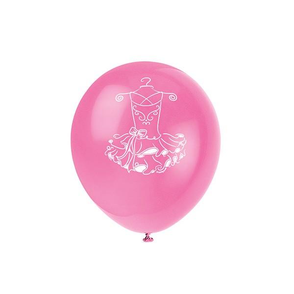 T1141996-Luftballons-Ballerina-8-Stueck-1
