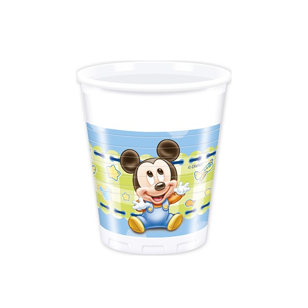 T1142342-Trinkbecher-Baby-Mickey-200ml-8-Stueck