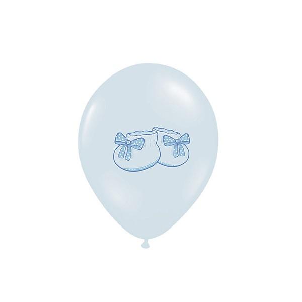 T1142529-Luftballons-Babyschuhe-pastell-hellblau-6-Stueck