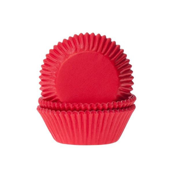 Muffinförmchen, rot, 50 Stück