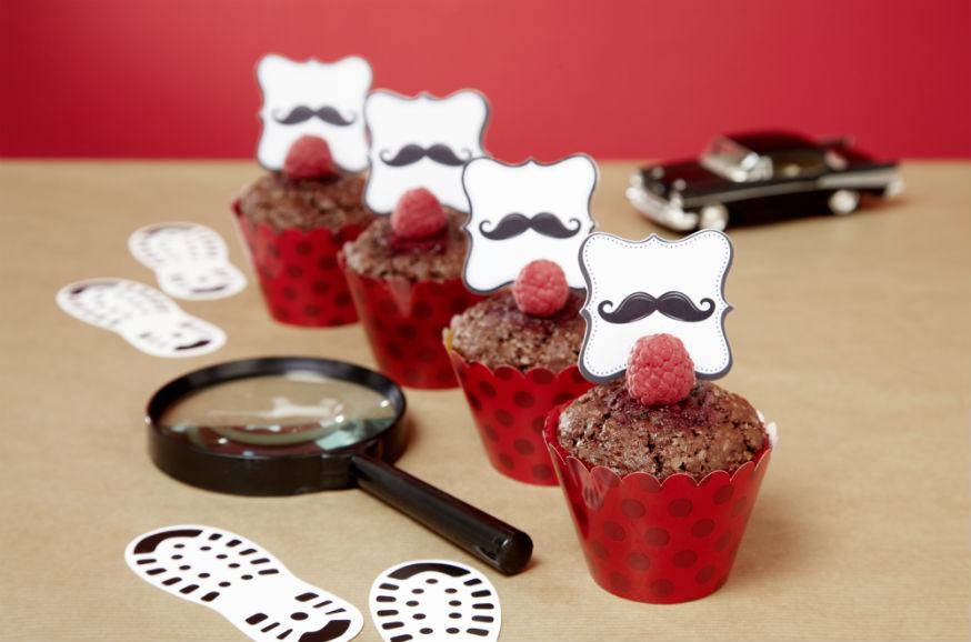 Diese Muffins haben die kleinen Detektive sofort aufgespürt. • Foto: Thordis Rüggeberg, Fotografie; Foodproduktion: Sarah-Christine Brandt