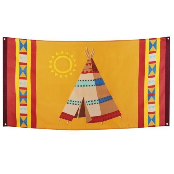 Fahne Indianer, 90x150cm