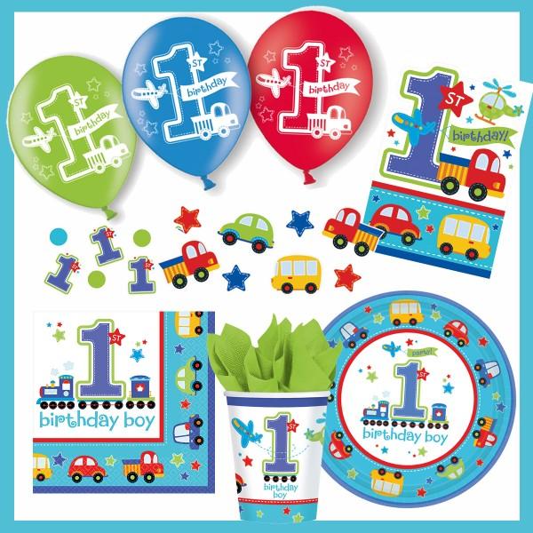 1. Geburtstag Junge - Party-Set