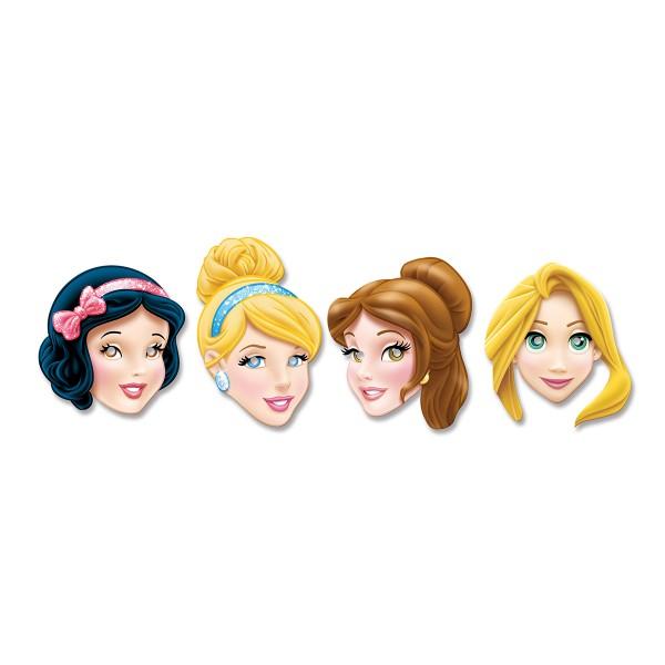 T1142232-Pappmasken-Disney-Prinzessin-4-Stueck