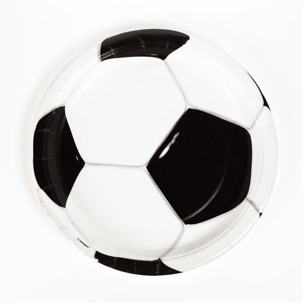 Pappteller Fussball