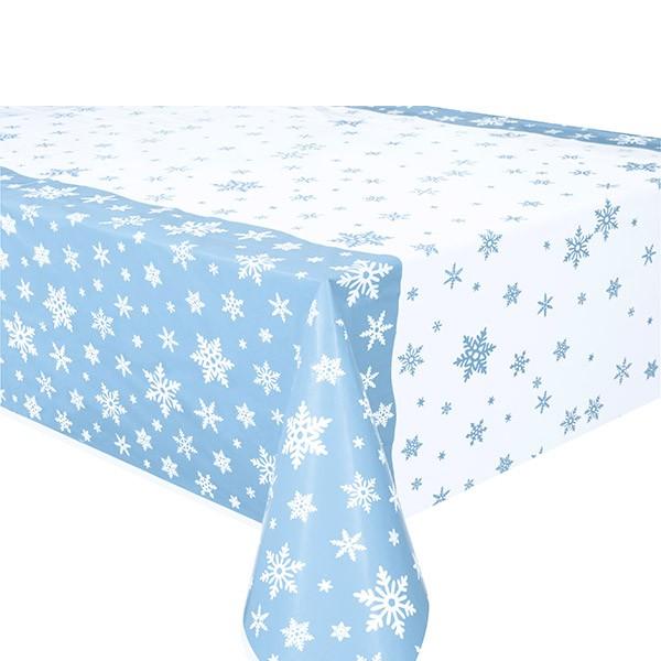 Tischdecke Schneeflocken