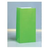 Partytüten aus Papier, Neon Bunt, 10 Stück