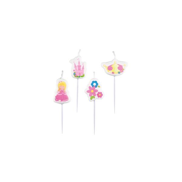 T1142129-Mini-Kerzen-Prinzessin-4-Stueck