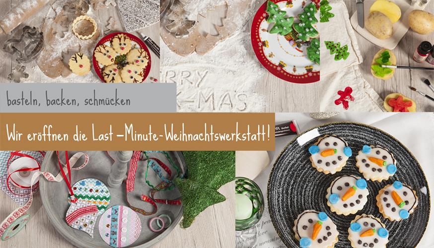 Last-Minute-Weihnachtswerkstatt