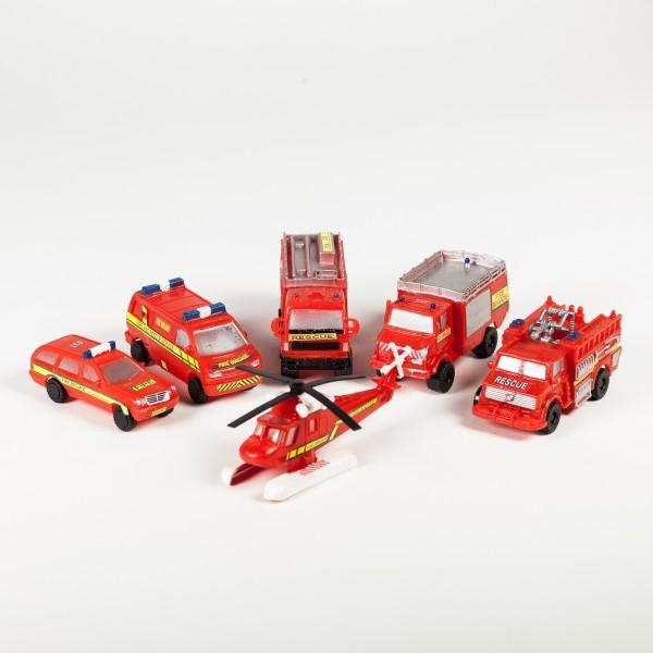 Spielzeugautos Feuerwehr
