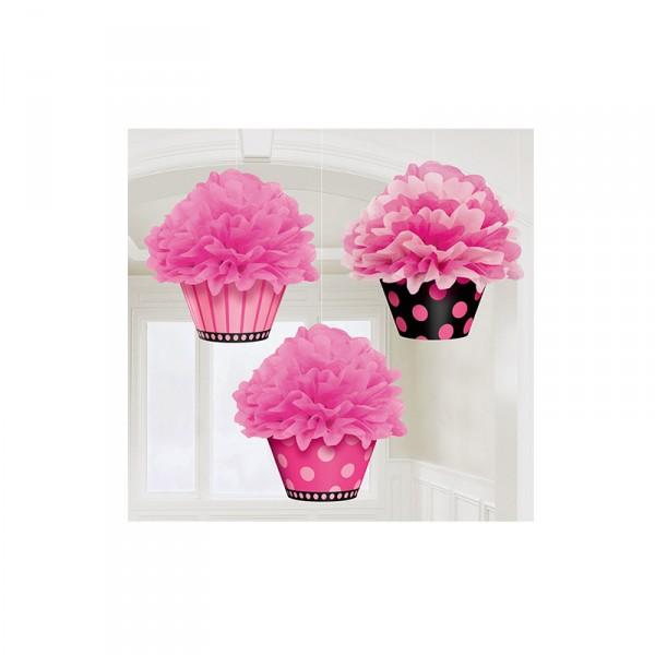Hängedekoration Cupcake, 3 Stück