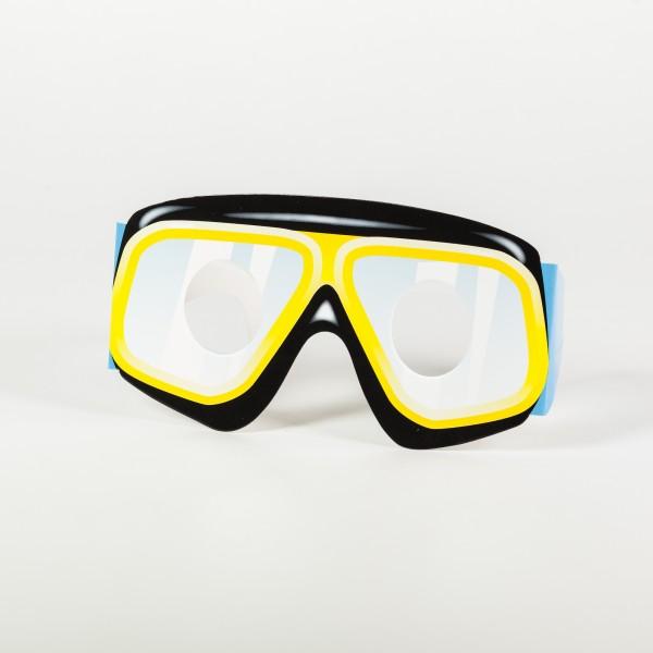 Papierbrillen Unterwasserwelt