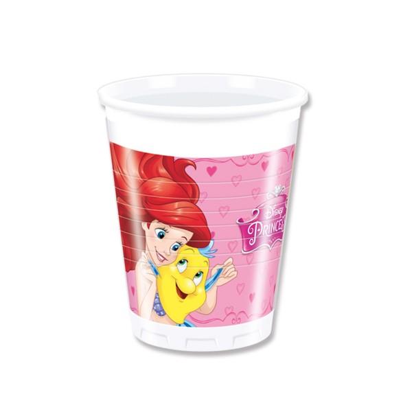 Pappbecher Disney Prinzessinnen, 200ml, 8 St