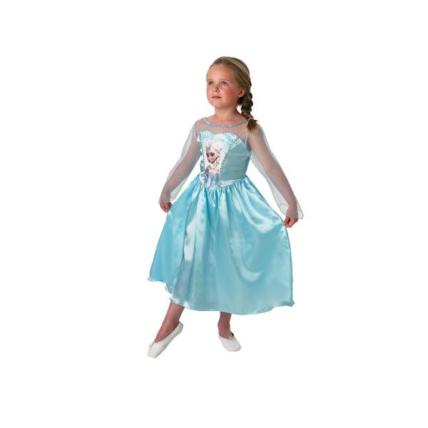 Kostüm Eiskönigin Elsa, Gr. M (5-6 Jahre)