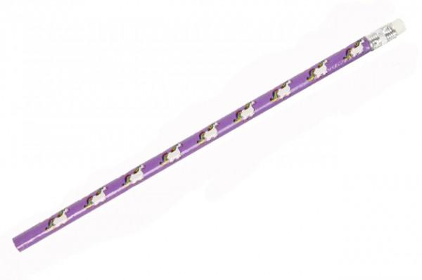 Einhorn Bleistift, 12 Stück, lila