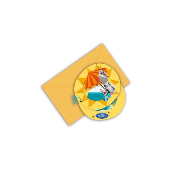 T1142423-Einladungskarten-Eiskoenigin-Olaf-Sommer-6-Stueck