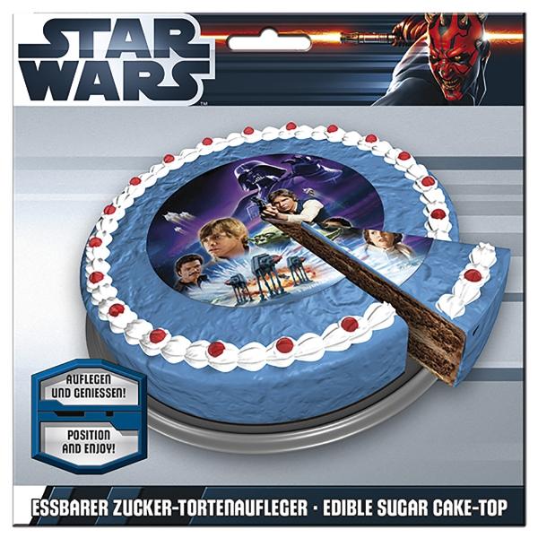 Star Wars Tortenaufleger - Ø16cm