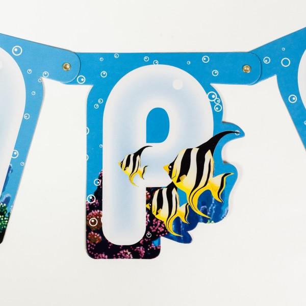 Wimpelkette Unterwasserwelt