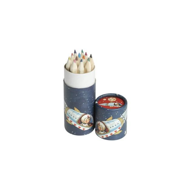 Buntstifte Rakete, 12 Stück