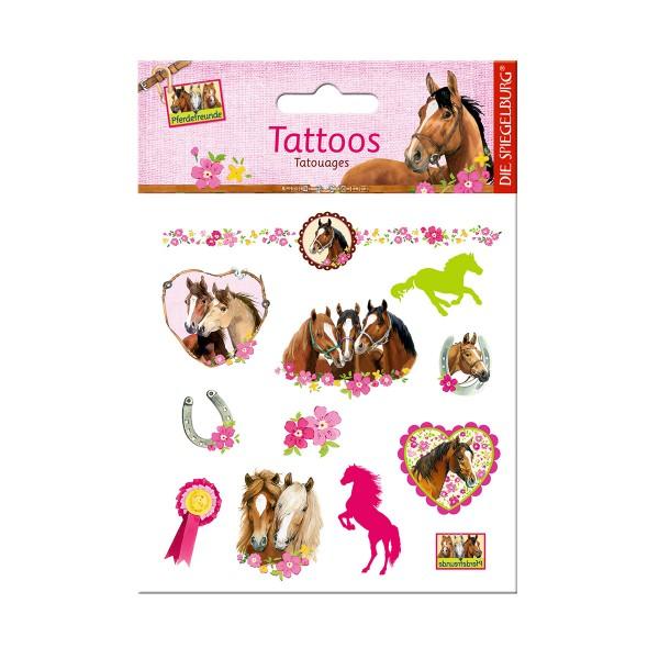 Pferdefreunde Tattoos