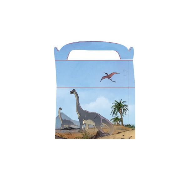 Partyboxen Dino, 6 Stück