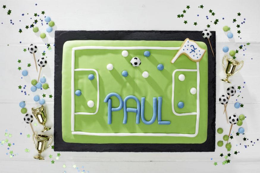 Der Kuchenhit auf dem Fußballgeburtstag! • Foto: Thordis Rüggeberg