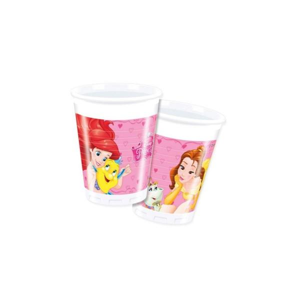 Pappbecher Disney Prinzessinnen, 200ml, 8 Stück