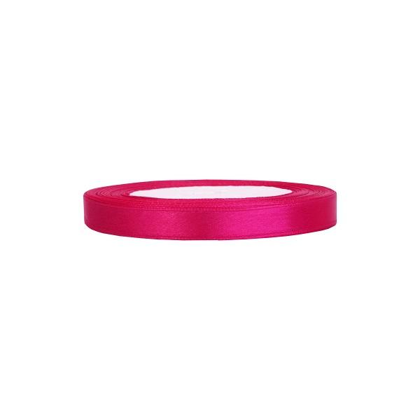 Satinband pink, 1 Rolle