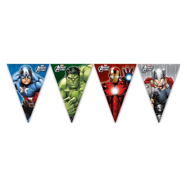T1142319-Wimpelkette-Avengers-Power-23m