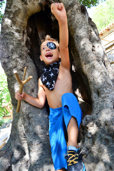 Welcher Pirat traut sich als Erster? • Foto: kids.4pictures / Fotolia.com