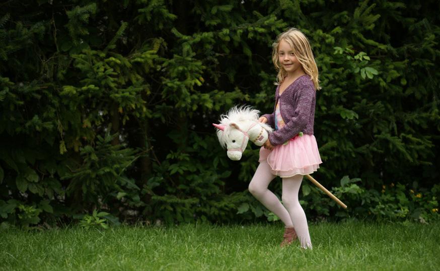 Einhörner sind auf dem Pferdegeburtstag natürlich auch erlaubt. • Foto: Helmut / Fotolia.com