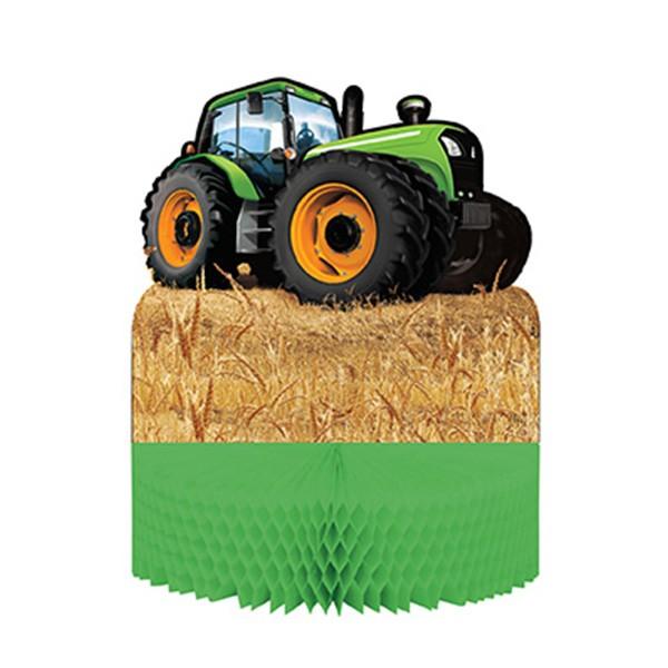Tischdekoration-Traktor