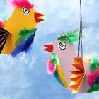 Hawaiigeburtstag-Basteln-Anleitung-Paradiesvogel