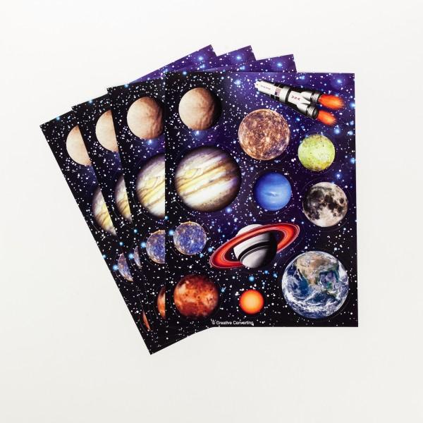 Sticker Weltraum