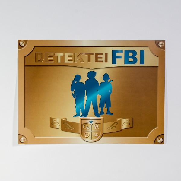 Tischsets Detektiv, 6 Stück