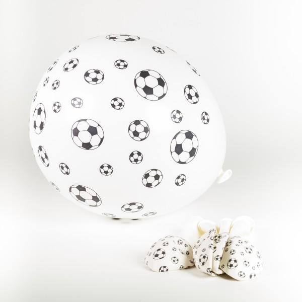 Luftballons Fußball, 6 Stück