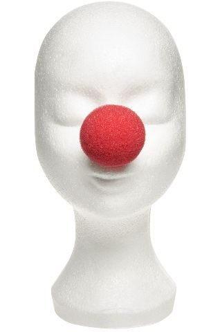 Clownnasen zum Aufstecken, 6 Stück