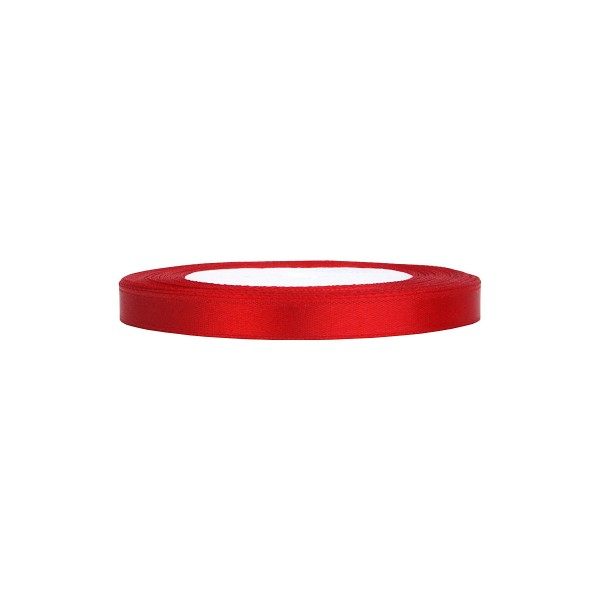 Satinband rot, 1 Rolle